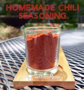 Wellness Mama Chili Seasoning Mix