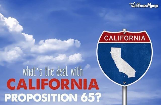 The 411 on the California Prop 65