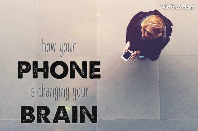 How your phone is changing your brain