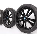 Bmw Summer Wheels I3 20 Zoll Alufelgen 430 Double Spoke Bicolor