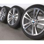 Bmw Summer Wheels 3er F30 F31 4er F32 F33 F36 18 Zoll Double Spoke 397 Bicolor