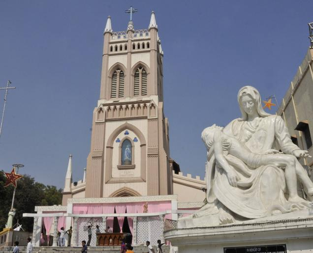 st mary's churches in hyderabad
