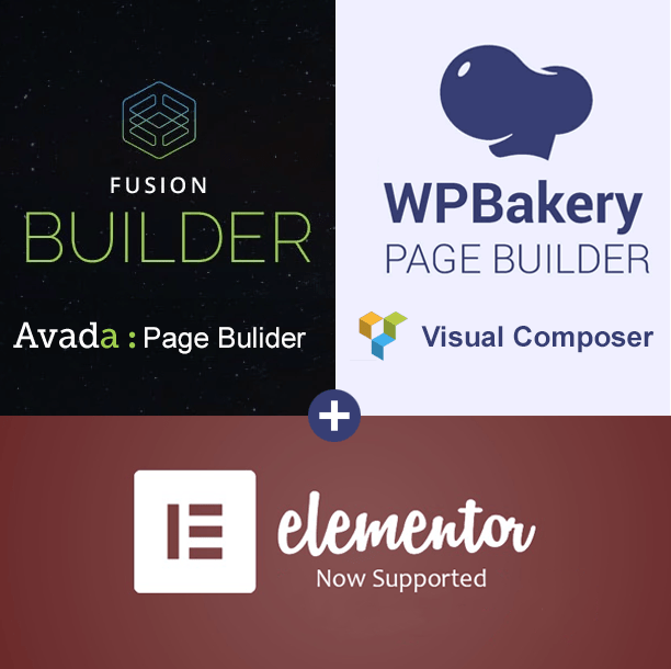 Compatible with Avada Fusion Builder & WP bakery page builder aka Visual Composer