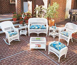 outdoor wicker patio furniture wicker