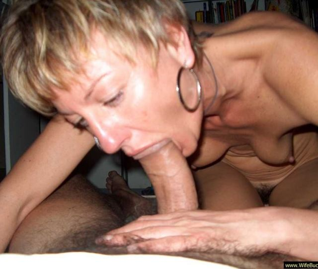 Mom Sucks A Strangers Cock At The Orgy