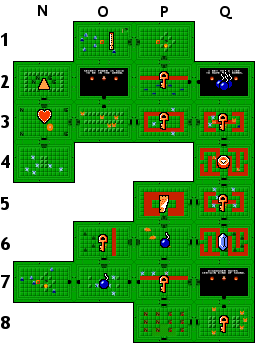 The Legend Of Zelda Underworld Quest 1 Dungeon 5