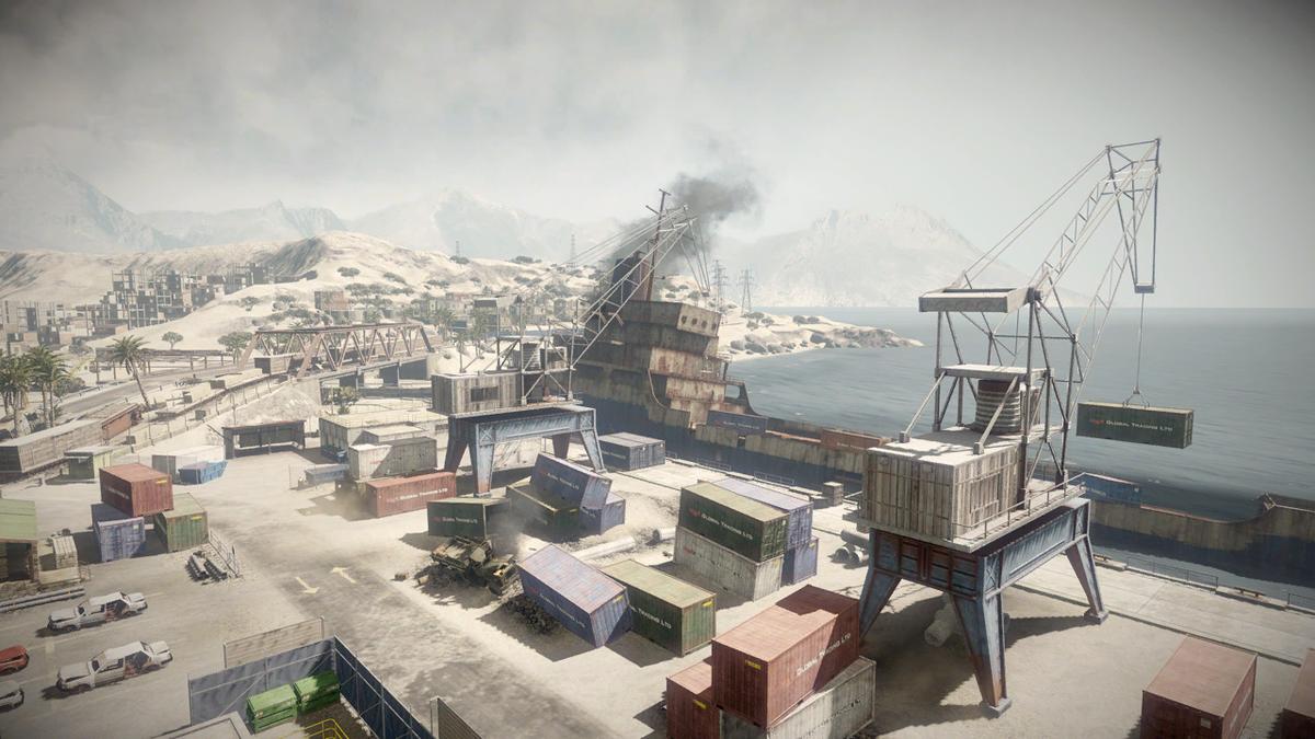 Battlefield Bad Company 2 Arica Harbour Strategywiki
