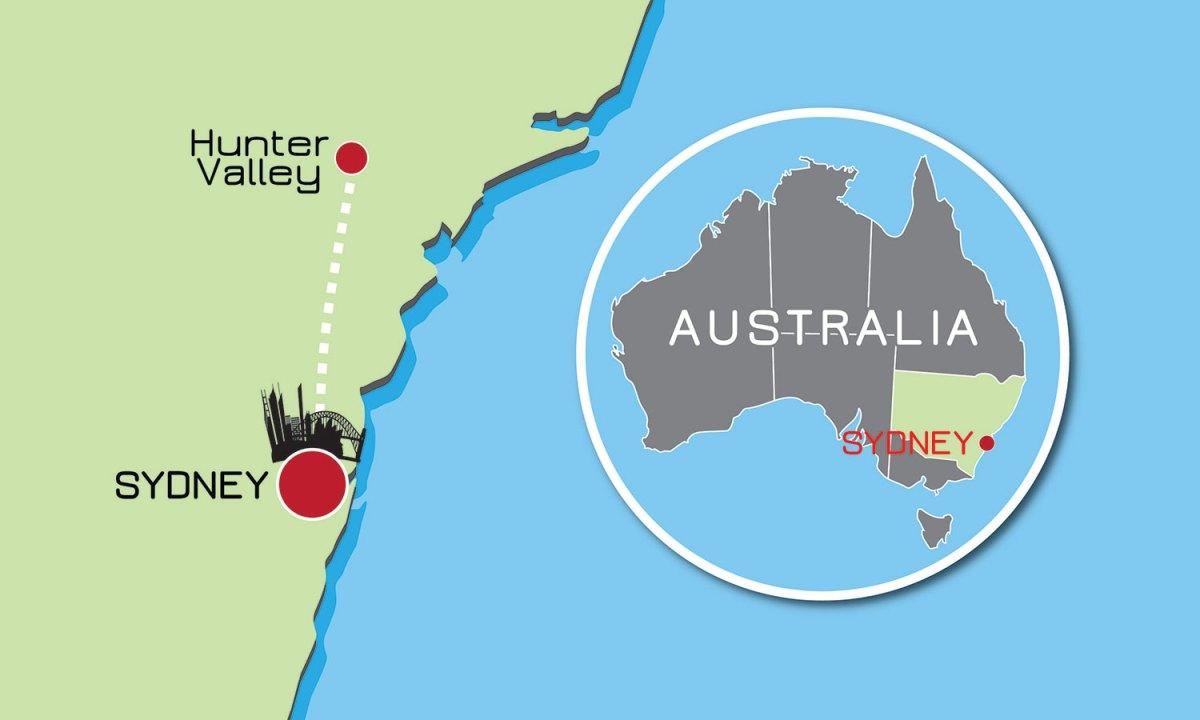 Hunter Valley Map