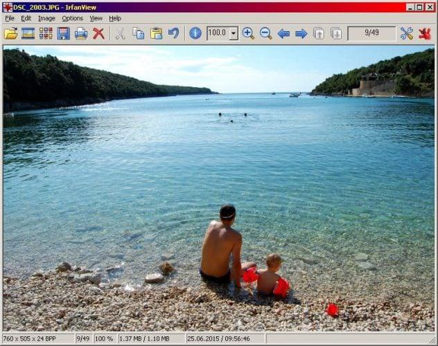 Irfanview windows 7 photo viewer