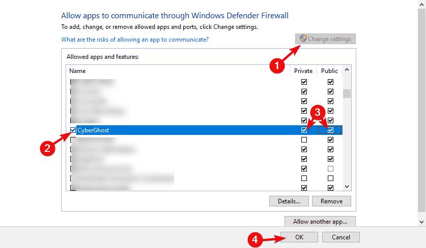 windows 10 vpn not working after update