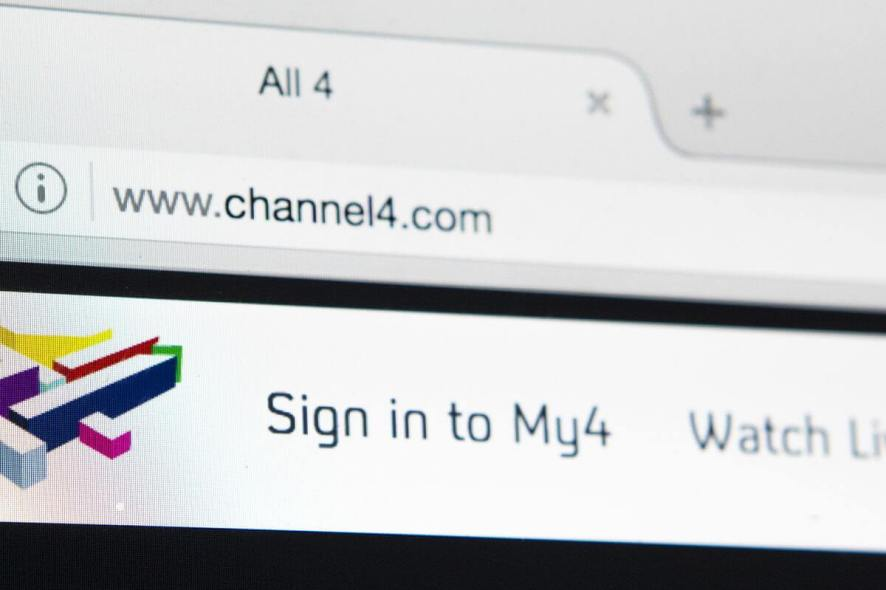British Channel 4 not working with VPN