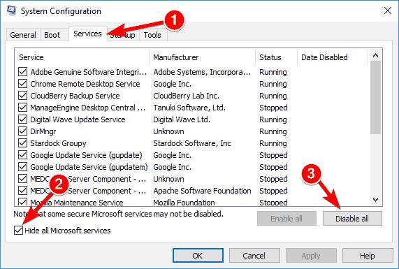 Wudfhost high CPU Windows 10