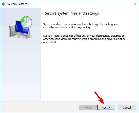 Windows defender won't scan