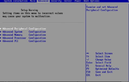 USB Host controller BIOS