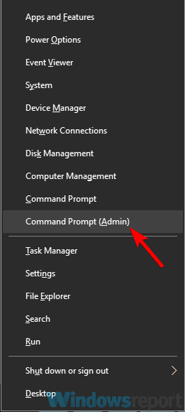 media center not working command prompt