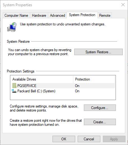 System Properties window visio pro won't install