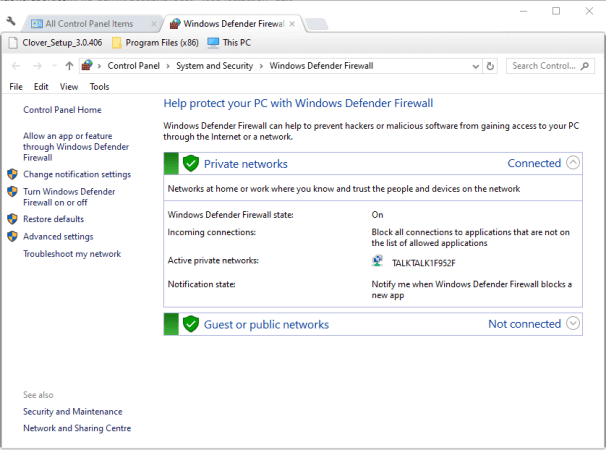 Windows Defender Firewall applet counter strike not connecting to server