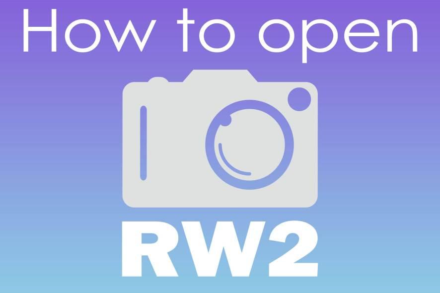 open rw2 file in windows