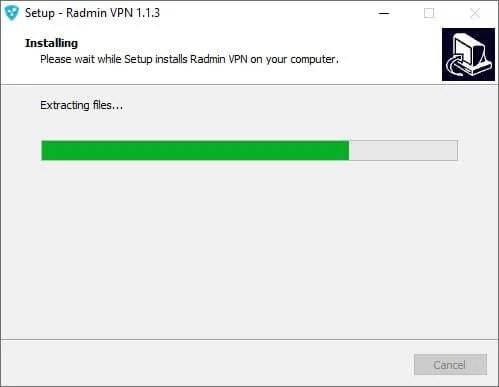 Radmin VPN installation