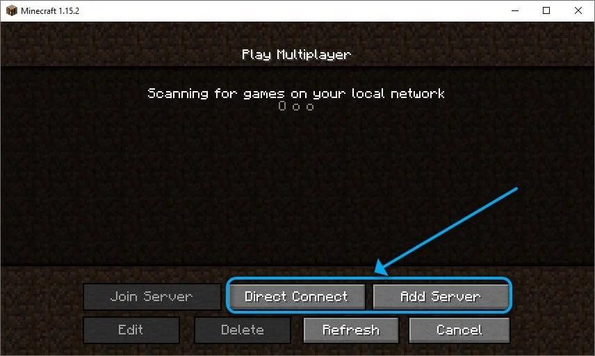 Add Minecraft server