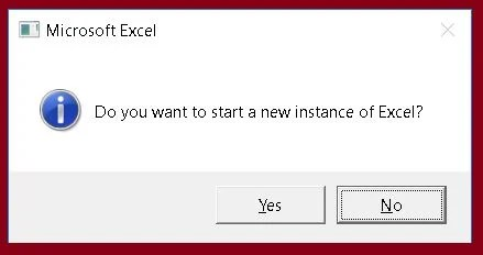 Sorry, Excel can't open two workbooks with the same name