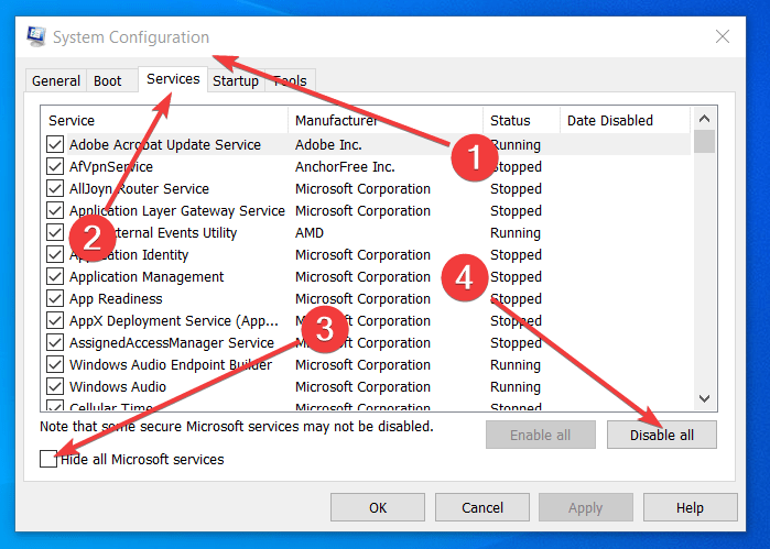 Store_data_structure_corruption BSOD error