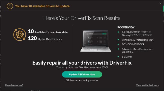 DriverFix Updater