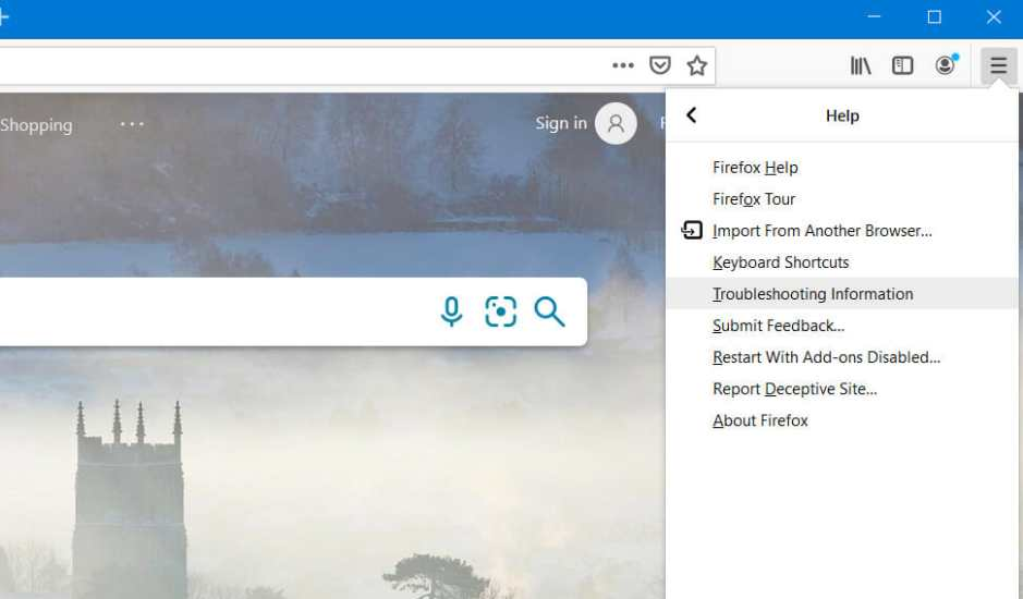 Help menu facebook games not loading in browser
