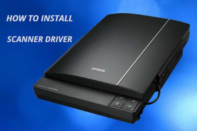 Easily install Epson scanner driver