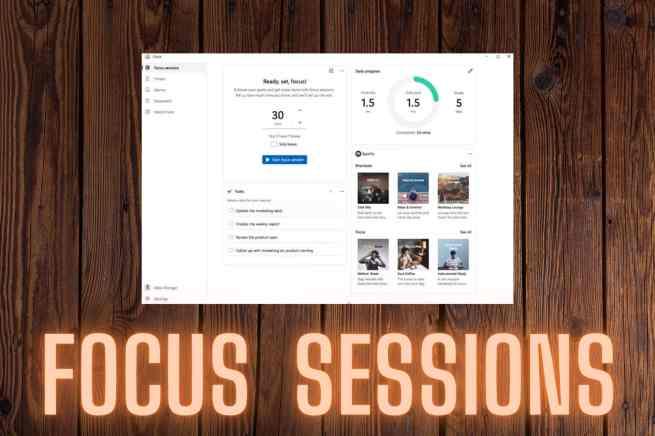 focus sessions