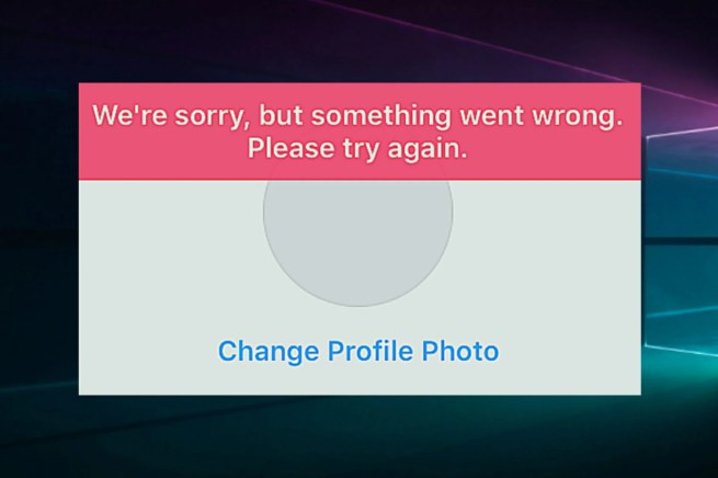 FIX: We're sorry, but something went wrong Instagram error