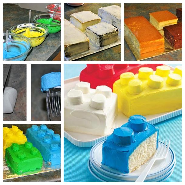 Wonderful Diy Cool Lego Block Cake