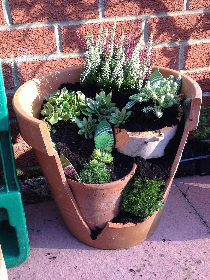 Large Terracotta Clay Plant Pots