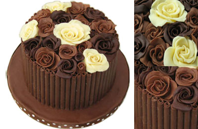 Wonderful Diy Chocolate Rose Cake Topper