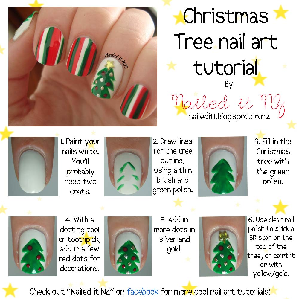 View In Gallery Christmas Nail Art 22