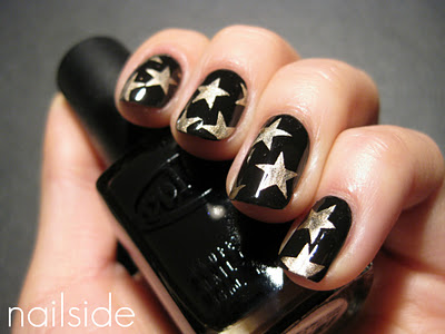 Sweater Nail Art Tutorial Image Source Here View In Gallery Starry Night Nails