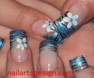 27 Fashionable New Years 2016 Nail Art Designs