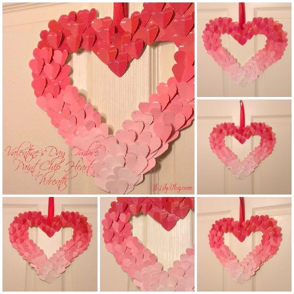 Wonderful DIY 20 Valentines Day Wreaths