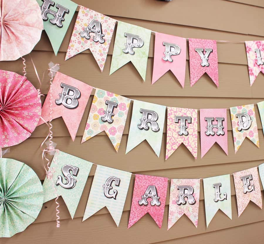 Celebrate With A Banner Creative Birthday Signs For Family Parties