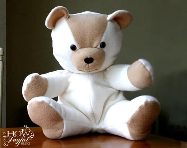 Teddy Printable Bear Sewing Pattern