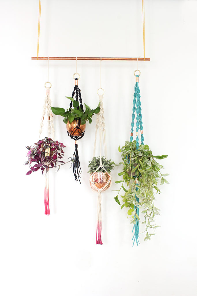 DIY Macrame Plant Holders A Chic Way To Hang Indoor Plants