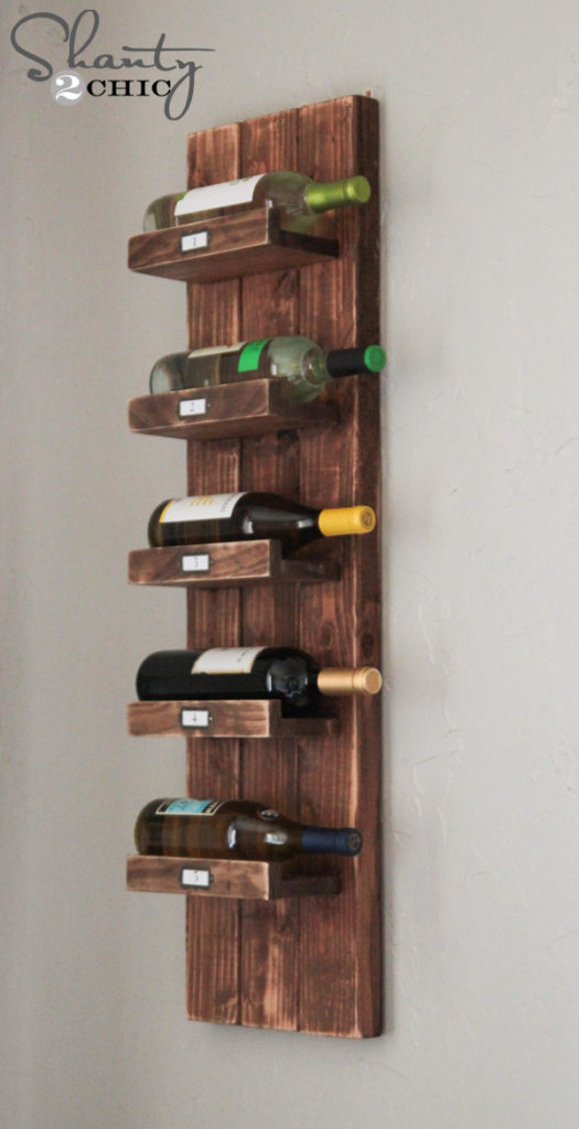 Wine OClock Ingenious And Innovative DIY Wine Racks