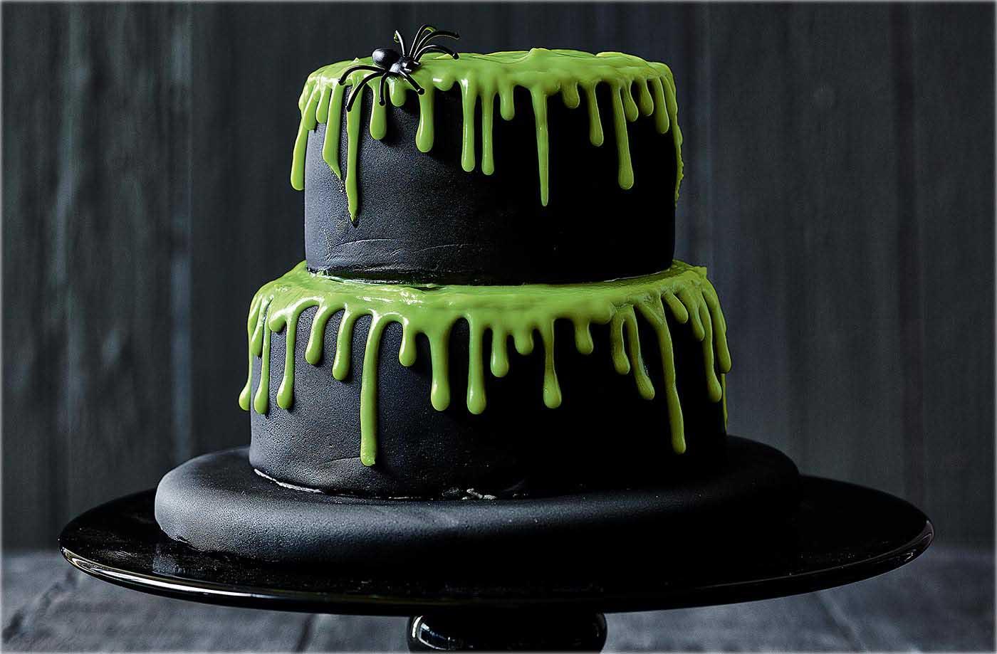 Dark Treats Homemade Halloween Cake Recipes