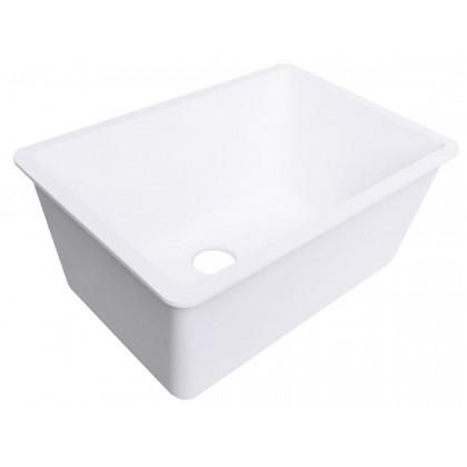 deep single bowl kitchen sink bisque
