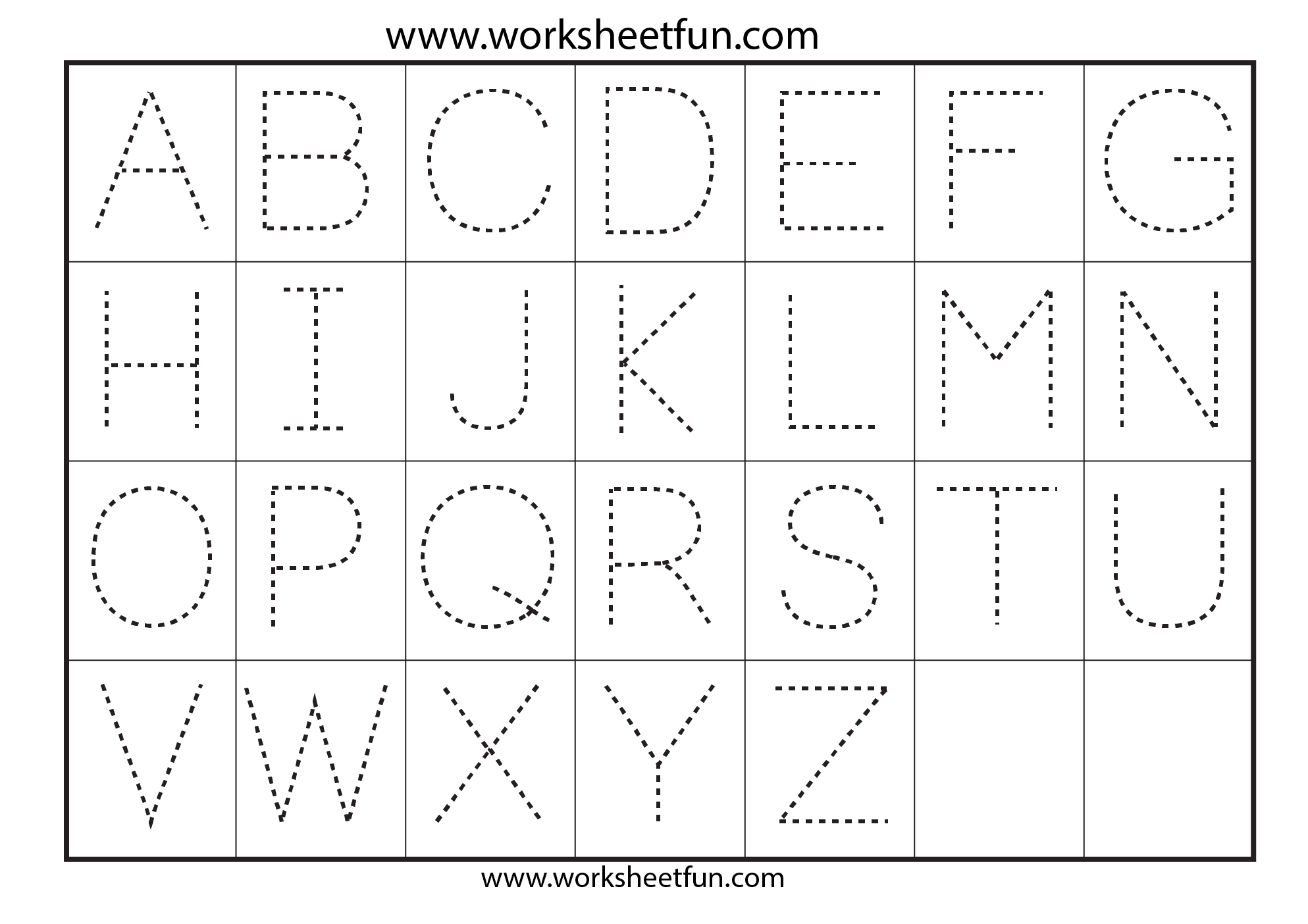 Search Results For Tracing Letters A Z Worksheets J Calendar
