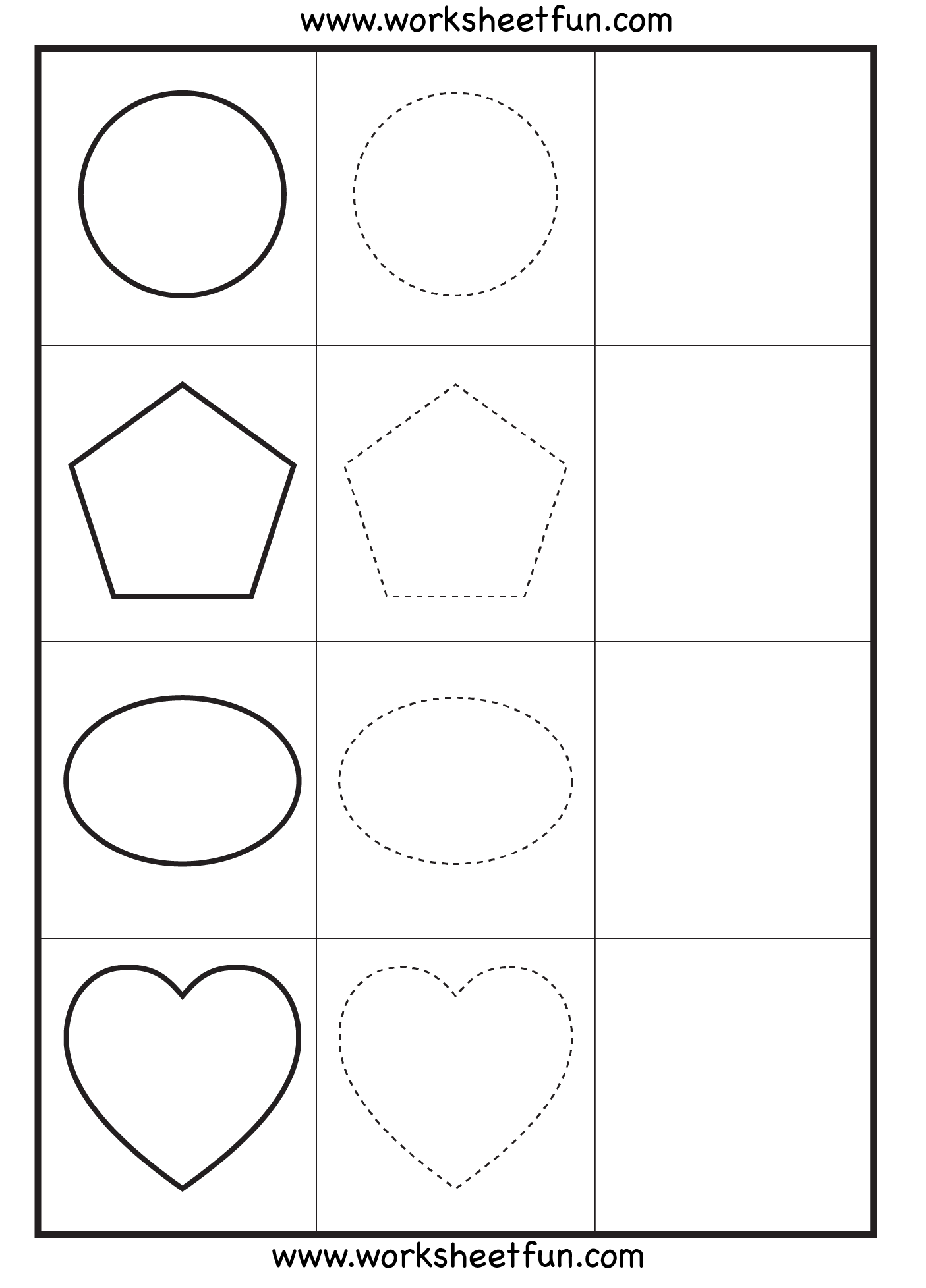 Printable Number Worksheet For 3 Year Olds