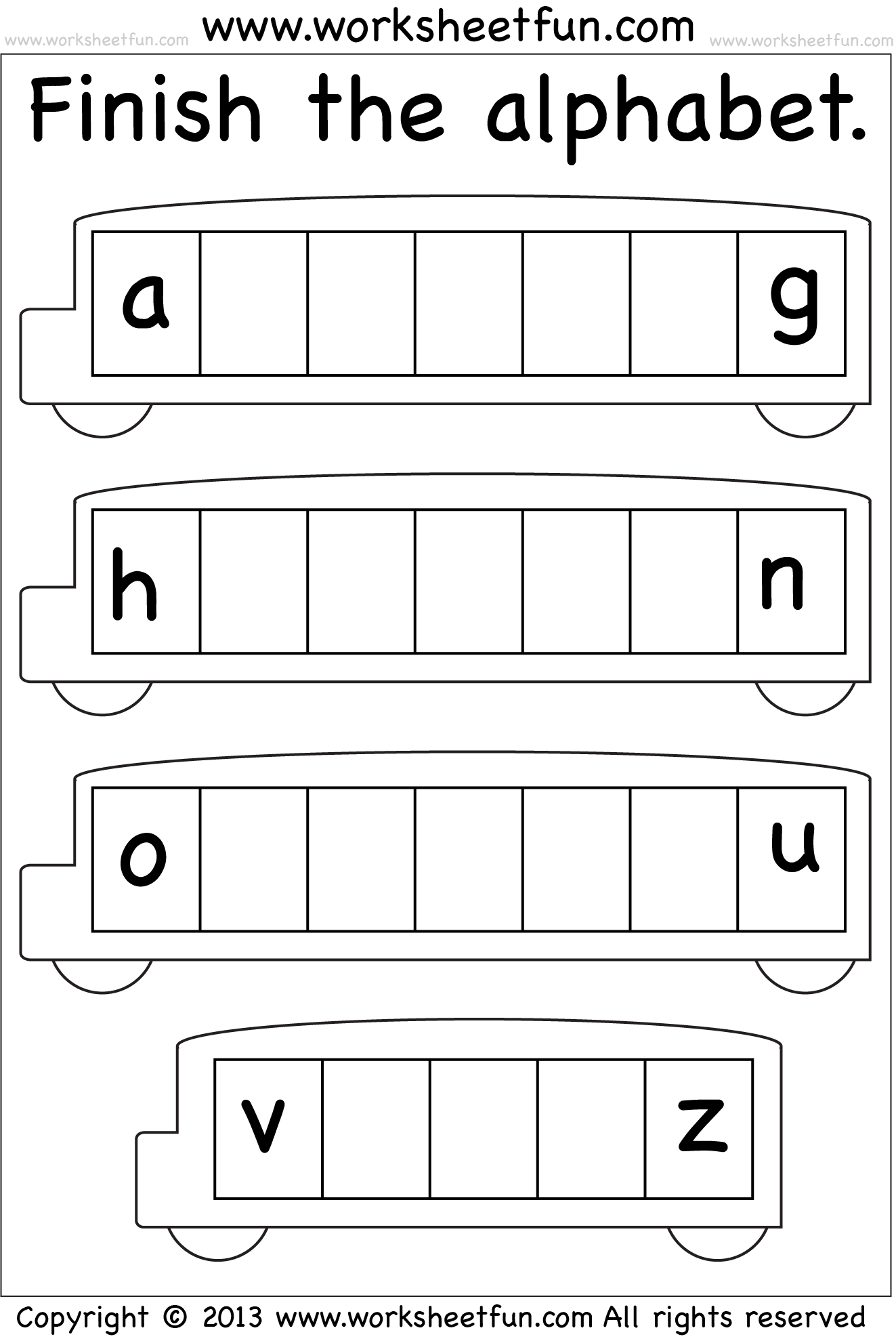 Missing Lowercase Letters Missing Small Letters Worksheet Free Printable Worksheets