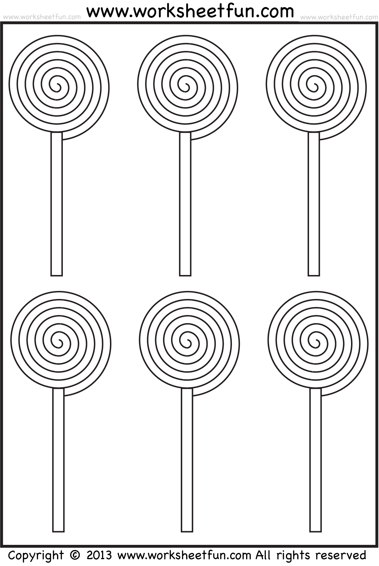 Gardening Worksheet For Preschoolers Patterns