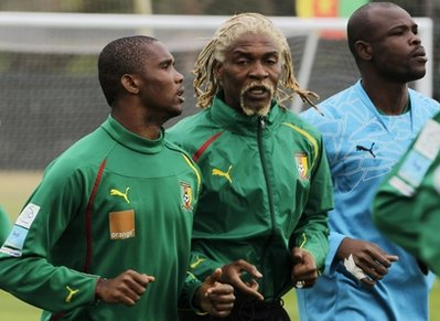 South Africa WCup Cameroon Soccer