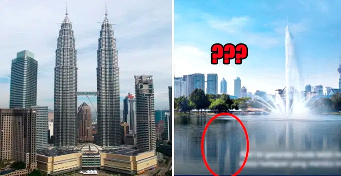removed the twin towers
